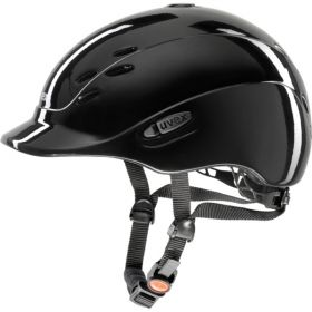 Uvex Onyxx Hat -Black Shining -49-54cm - XXXS-XS - Uvex Riding Helmets