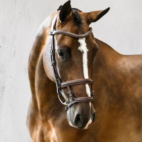 PS of Sweden Paris Bridle-Brown-Cob Clearance