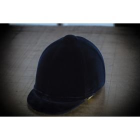 The Patey PROtector Riding Hat - Navy - 56cm - 1.5 - 6 7/8 - Clearance