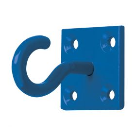 Perry Equestrian Chain Hook on Plate - 2 Pack Blue
