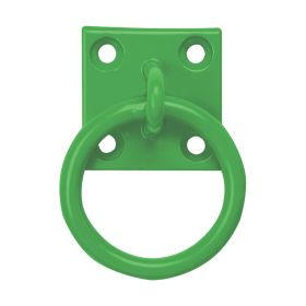 Perry Equestrian Chain Ring on Plate - 2 Pack  Green