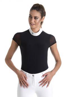 EGO7 Rita Short Sleeve Show Shirt Navy