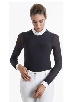 EGO7 Rita Long Sleeve Show Shirt Navy