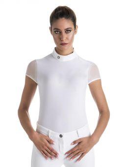 EGO7 Rita Short Sleeve Show Shirt White
