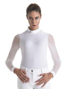 EGO7 Rita Long Sleeve Show Shirt White