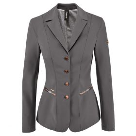 Pikeur Paulin Ladies Competition Jacket - Grey Rose Gold