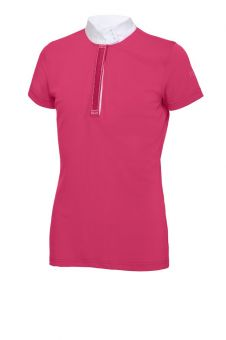 Pikeur Alexia Childrens Competition Shirt  Pink