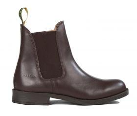 Tuffa Polo Jodhpur Boots-Brown-39 - UK 6 Clearance - Tuffa Boots