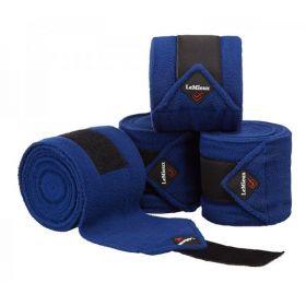 LeMieux Luxury Pony Size Polo Bandages - Set of Four Benetton Blue
