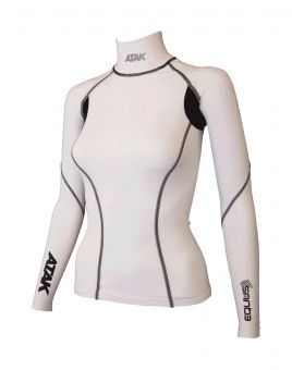 Atak Equus Compression Shirt  White