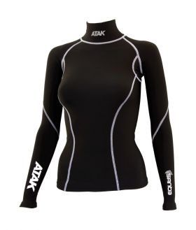 Atak Equus Compression Shirt Junior Black