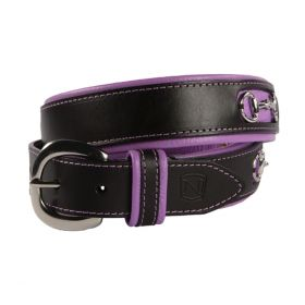 Noble Outfitters On The Bit Belt Black & Purple