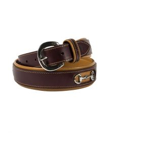 Noble Outfitters On The Bit Belt Brown & Fig
