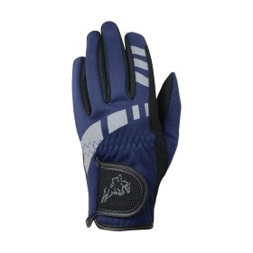 Hy5 Extreme Reflective Softshell Gloves Adults Navy
