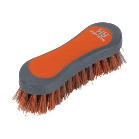 HySHINE Active Groom Face Brush Terracotta Orange