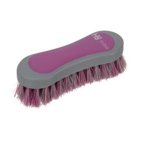 HySHINE Active Groom Face Brush Port Royal Purple