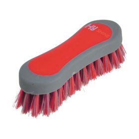 HySHINE Active Groom Face Brush Rosette Red