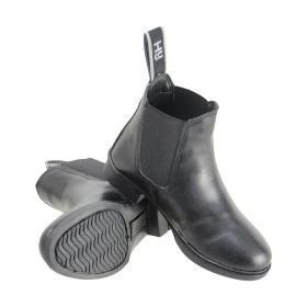 HyLAND Beverley Synthetic Jodhpur Boot Adults Black