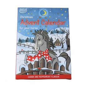 Horse Advent Calendar - Carob and Peppermint