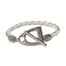 Noble Outfitters In the Stirrup Bracelet White
