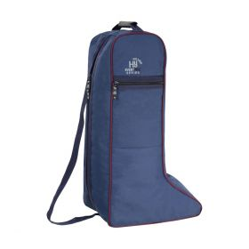 Hy Event Pro Series Boot Bag Navy - Burgundy