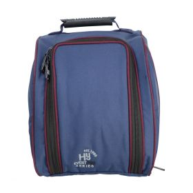 Hy Event Pro Series Helmet Bag Navy - Burgundy