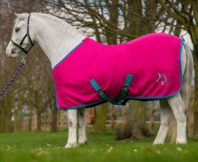 Hy Zeddy Fleece Rug Pink