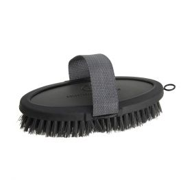 Coldstream Faux Leather Body Brush Charcoal