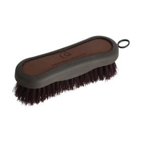 Coldstream Faux Leather Face Brush Brown