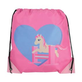 Little Rider Show Pony Drawstring Bag