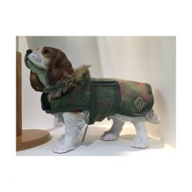 George & Dotty Toto Dog Rug Olive