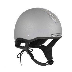 Champion Pro-Ultimate Snell Riding Hat-Silver-55cm - 1 - 6 3/4 Clearance - Champion