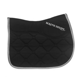 Ergonomics Ergonomics Luxury All Purpose SaddlePad Black - Silver