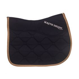 Ergonomics Ergonomics Luxury All Purpose SaddlePad Navy - Gold