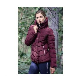 Coldstream Kimmerston Quilted Coat - Wine