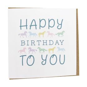Gubblecote Beautiful Greetings Card - Happy Birthday