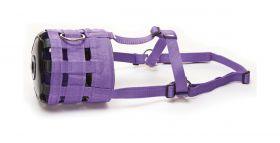HY Muzzle with Fleece  Purple