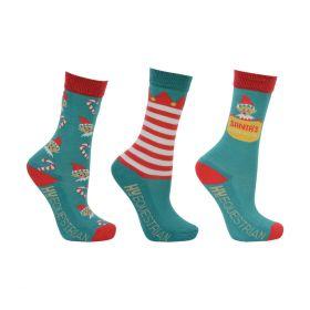Hy Equestrian - Children's Elf Socks (Pack of 3)