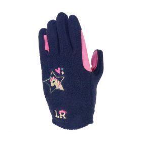 I Love My Pony Collection Fleece Gloves by Little Rider