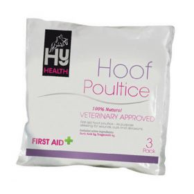 HyHEALTH Hoof Poultice - Hoof Shaped - Pack of 3