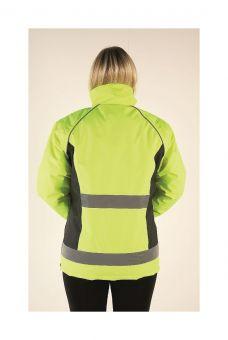 HyVIZ Waterproof Riding Jacket Yellow