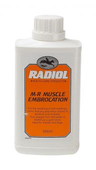 Radiol M-R Muscle Embrocation - 500ml