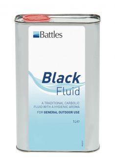 Battles Black Fluid 1ltr