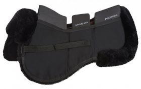 LeMieux Pro-Sorb Lambskin 3 Pocket Half Pad  Black