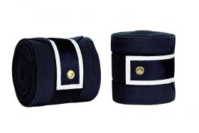 PS of Sweden Pro Collection Polo Bandage-Navy - White
