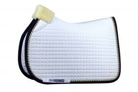 PS of Sweden PRO Collection Jump Saddlepad - White Navy