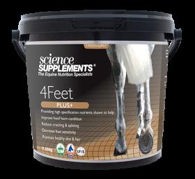 Science Supplements 4Feet Plus - Horse Hoof Supplement