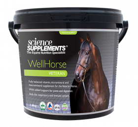 Science Supplements WellHorse Veteran 1.6kg - Horse Feed Balancer