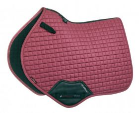 LeMieux ProSport Suede Close Contact Square French Rose