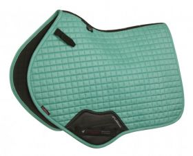 LeMieux ProSport Suede Close Contact Square - Peacock Green